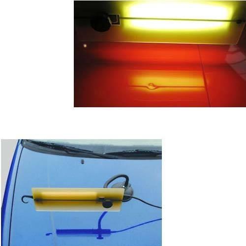 ausbeulreflektor gelb pr zisionslinie schwarz. Black Bedroom Furniture Sets. Home Design Ideas